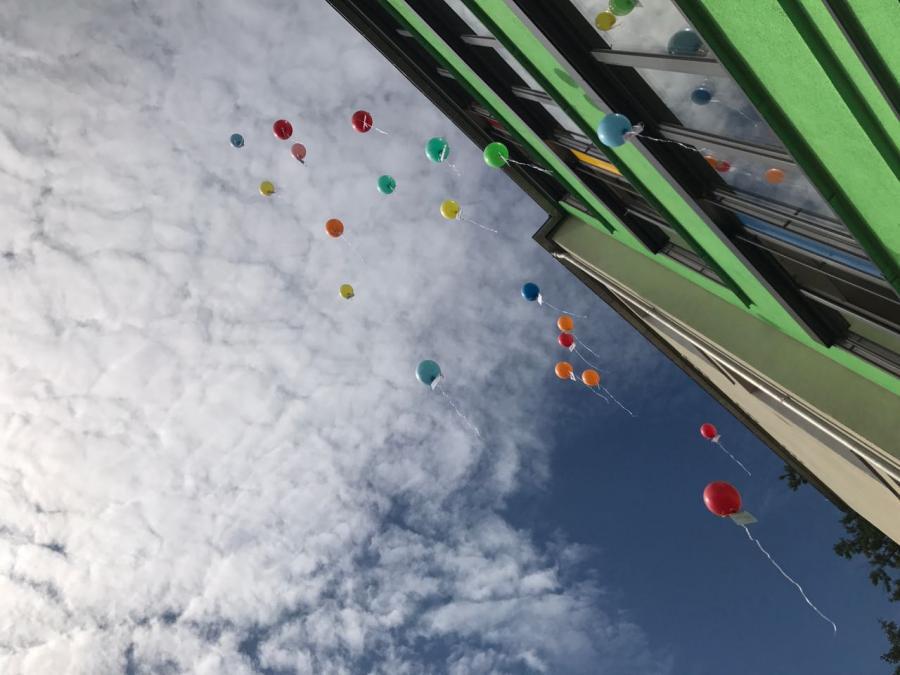 Luftballontreiben