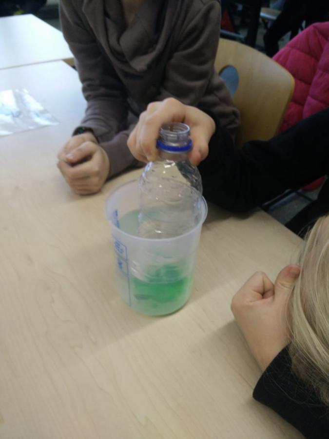 mit Wasser experimentieren