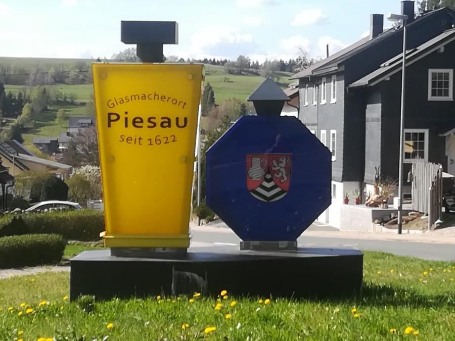 Glasmacherort Piesau