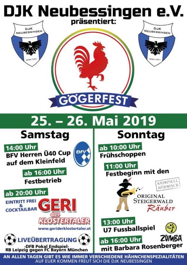 Gögerfest Plakat 2019