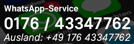 WhatsApp-Mitgliederservice