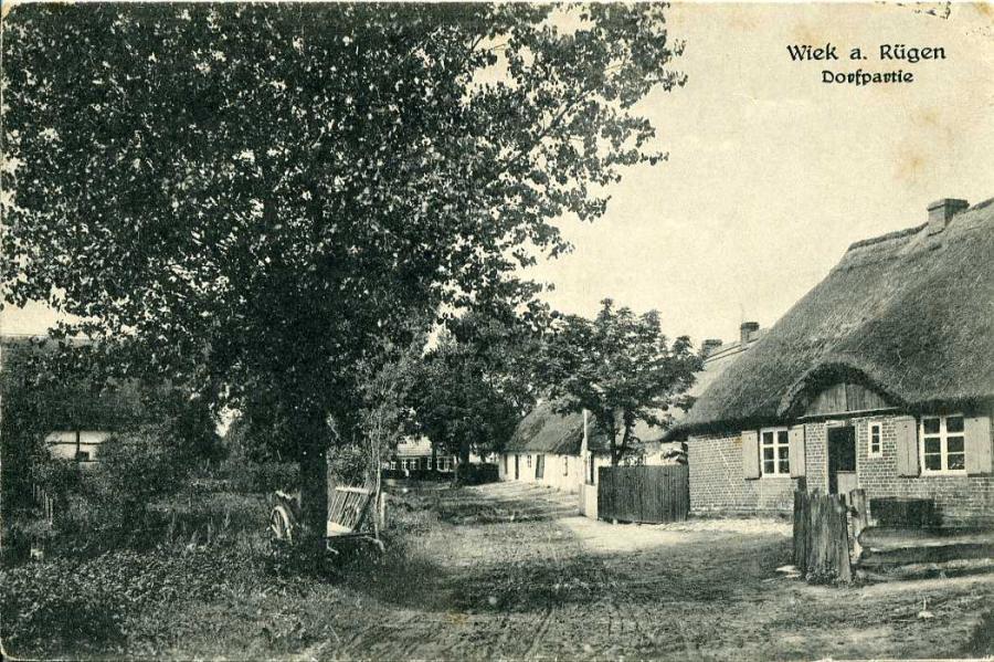 Wiek a. Rügen Dorfpartie
