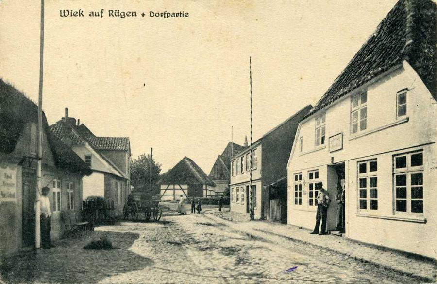 Wiek auf Rügen Dorfpartie
