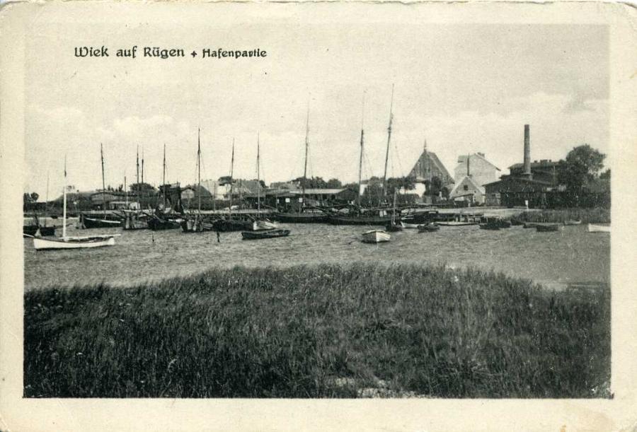 Wiek auf Rügen Hafenpartie