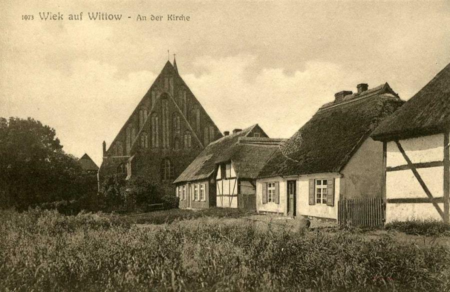 Wiek auf Wittow Ander Kirche