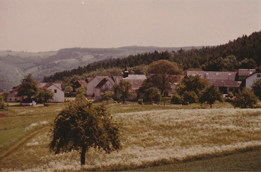 Ortsansicht um 1970