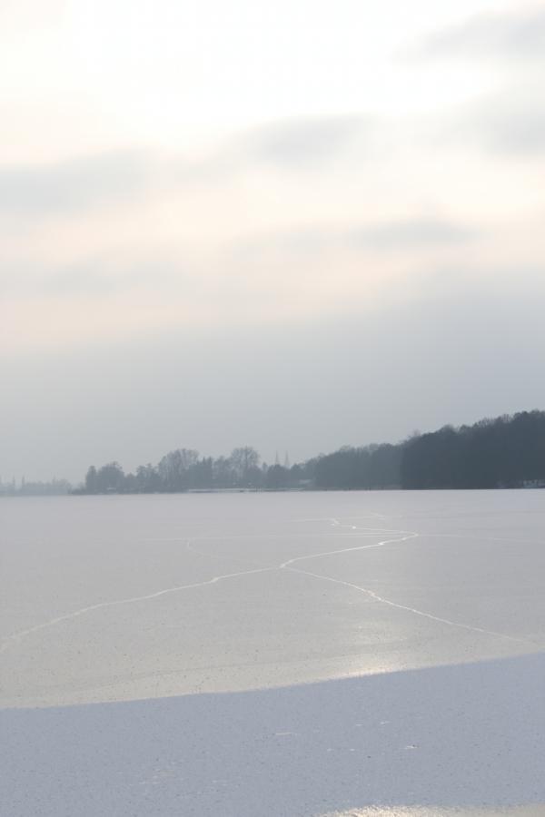Ruppiner See im Winter