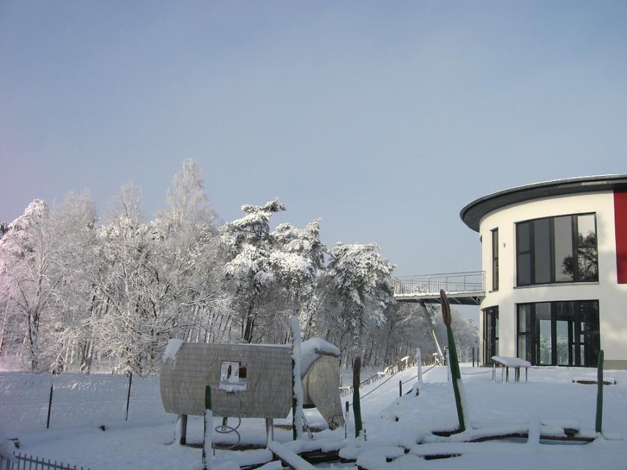 Winter am Europ. Fachzentrum Moor und Klima (EFMK)