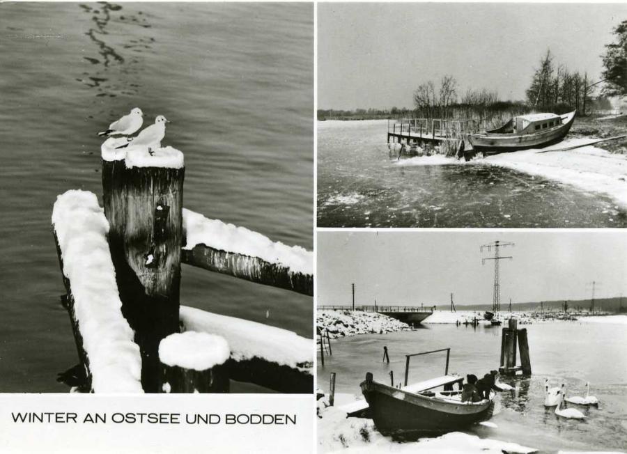 Winter an Ostsee und Bodden