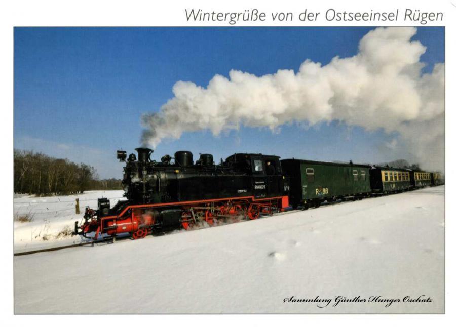 Wintergrüße von der Ostseeinsel Rügen