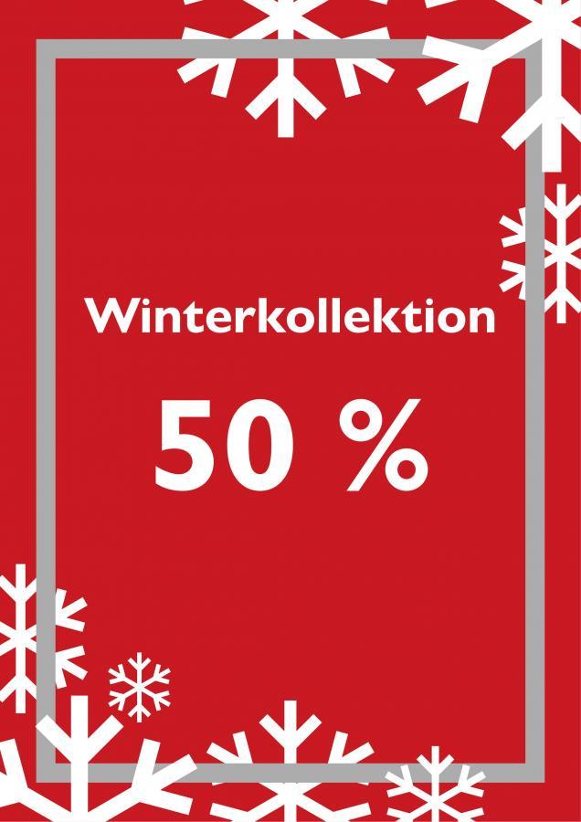 Winterkollektion 50 Prozent