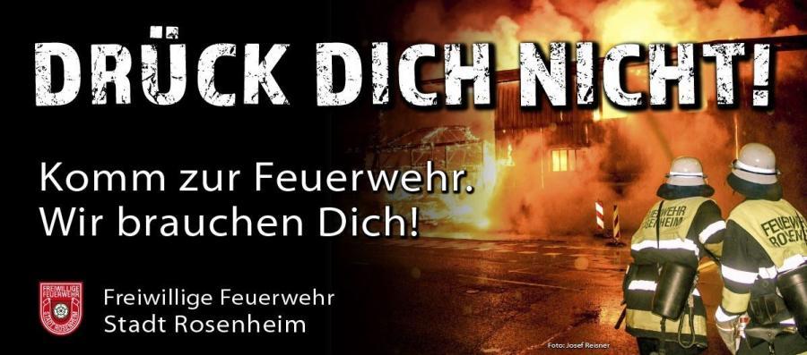 Komm zur Feuerwehr - wir brauchen Dich!