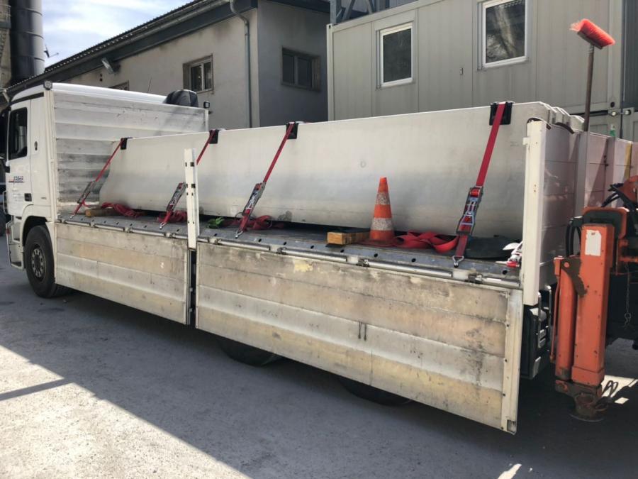 Baustellentransport