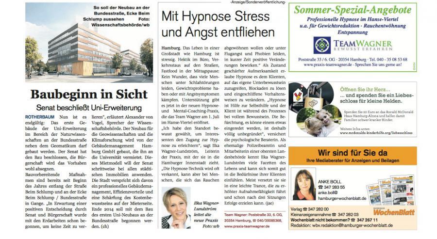 Hamburger Wochenblatt 18.06.2014