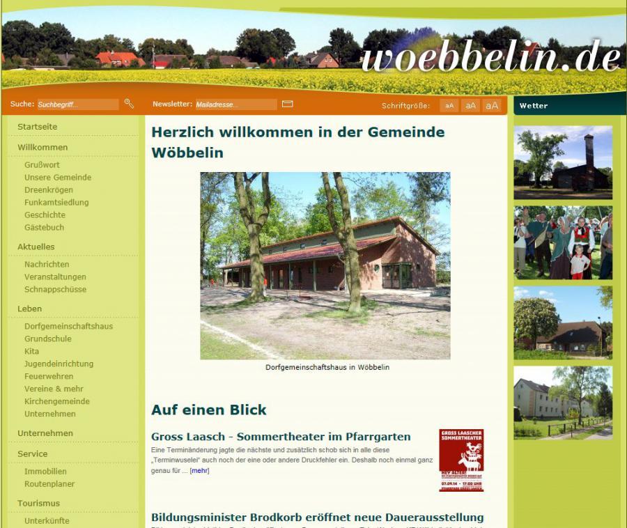 Wöbbelin.de