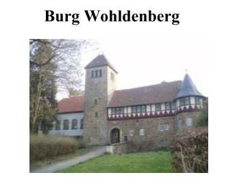 Burg Wohlenberg