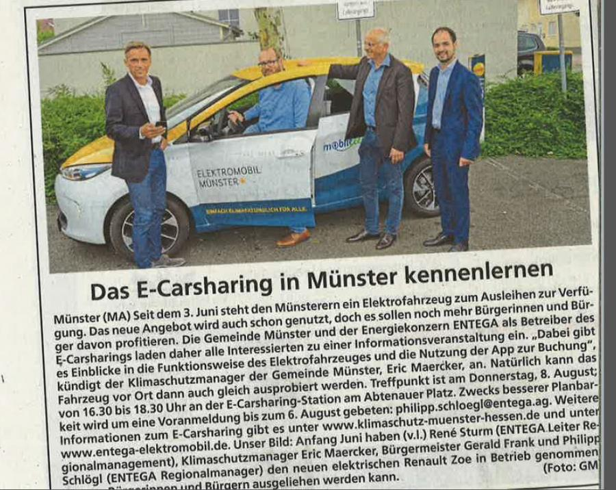 Bürgerworkshop E-Carsharing