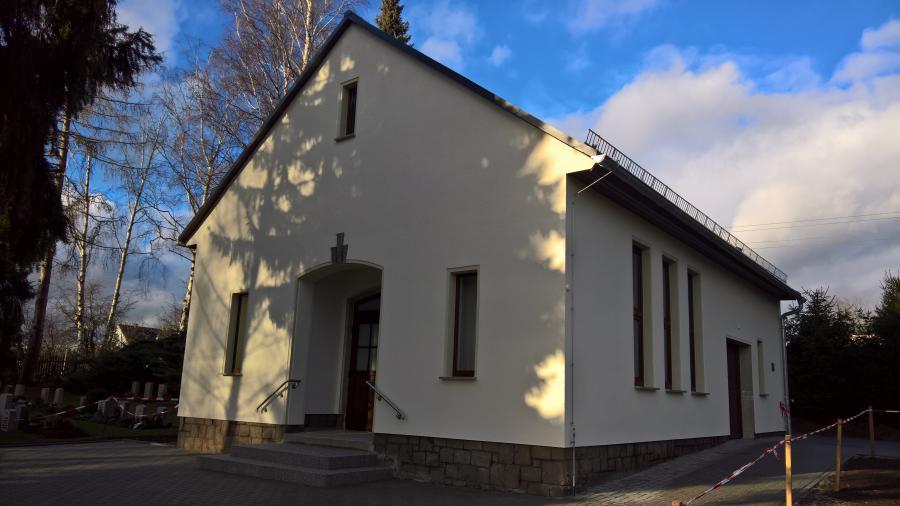 Trauerhalle Wiederau