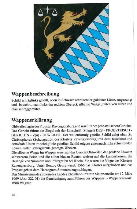 Wappenbeschreibung