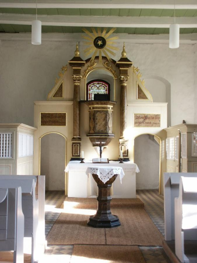 Altar in Wüstermarke