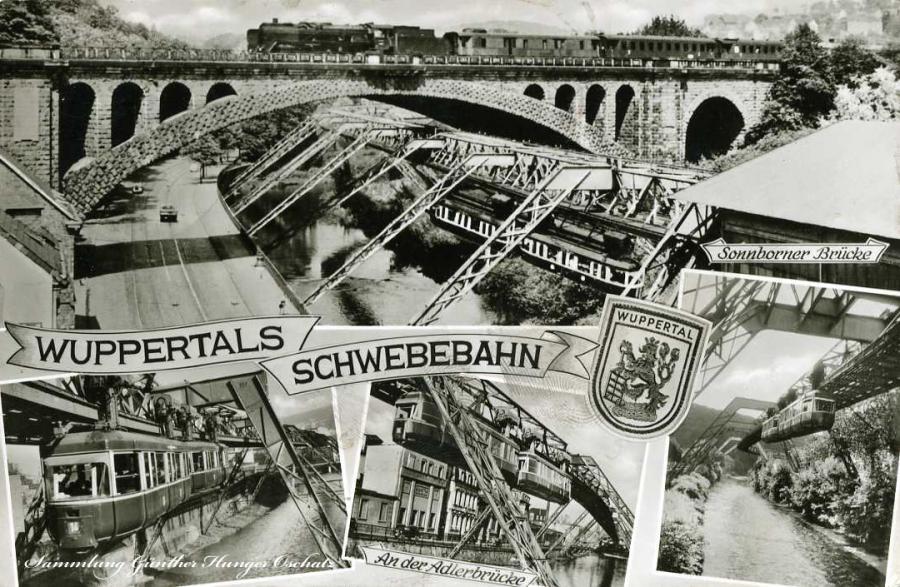 Wuppertals Schwebebahn