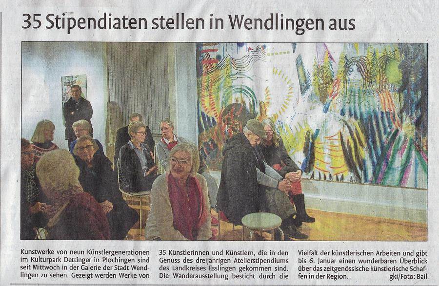 Vernissage Stipendiaten