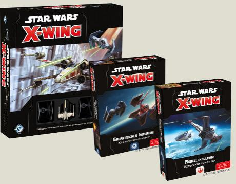 X-Wing 2.0 Sortiment