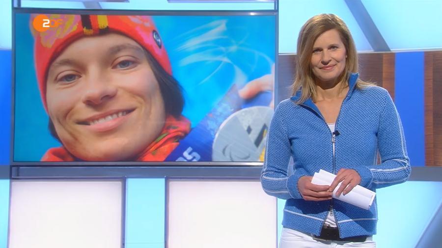ZDF SPORTextra Weltcup Finsterau 2016 screenshot