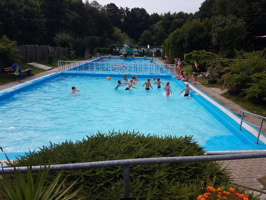 Zeltlager Görzke Schwimmbad 2