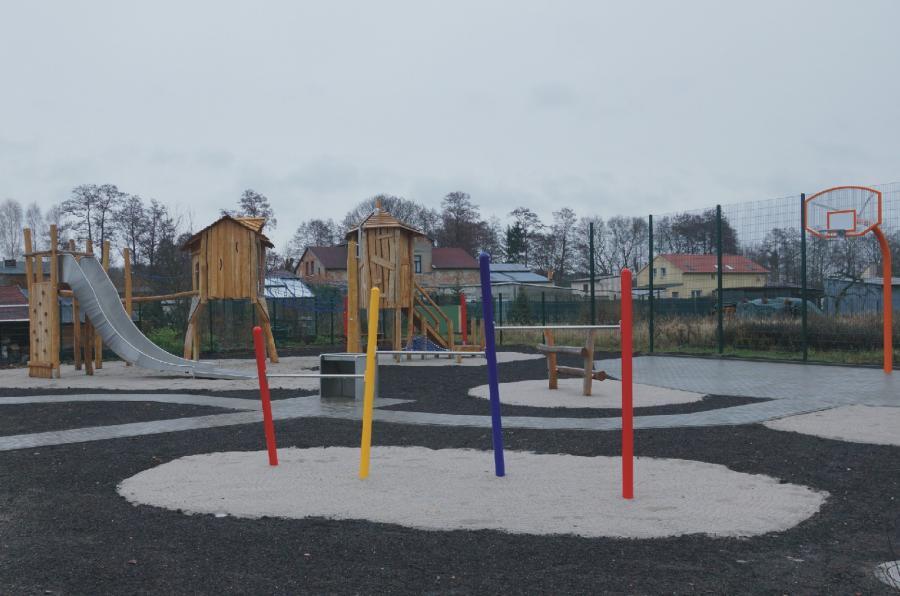 Zerpenschleuse Spielplatz Pirateninsel 3, Foto Gemeinde Wandlitz