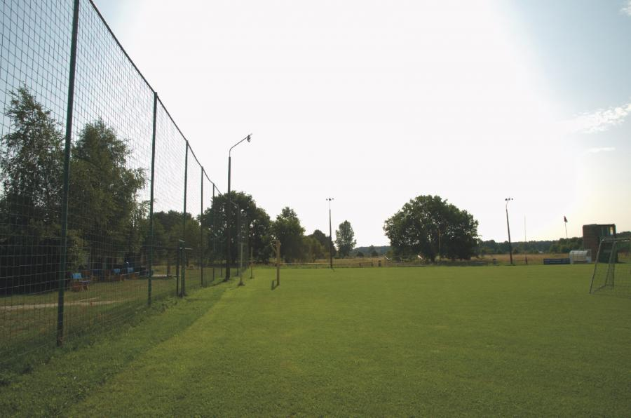 Zerpenschleuse Sportplatz, Foto: Urrutia