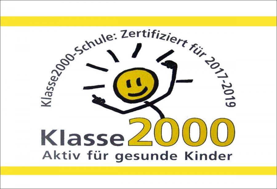 Klasse 2000-Zertifikat