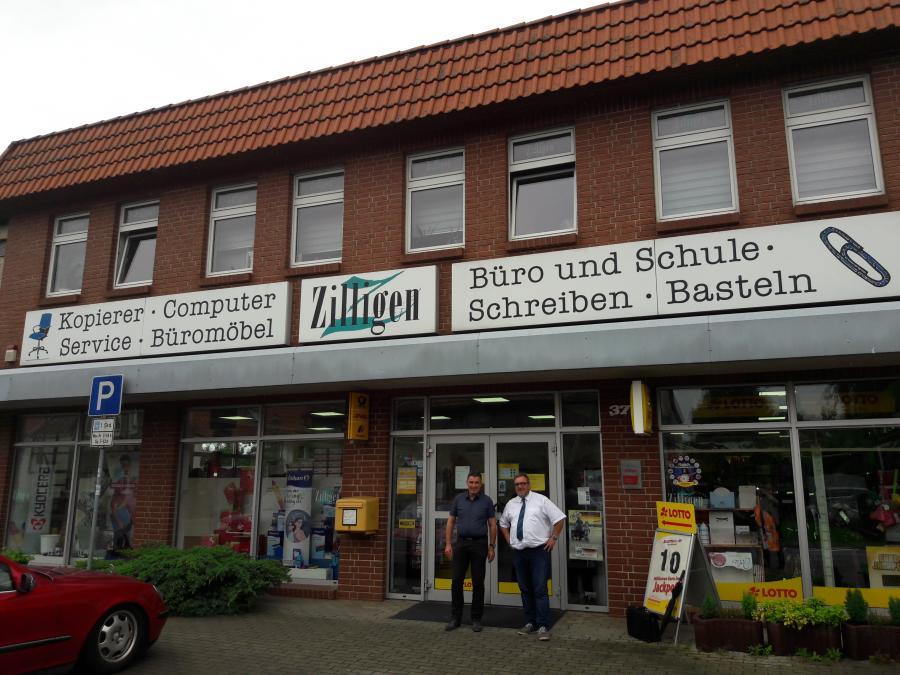 Sommertour des Bürgermeisters und des Unternehmerbüro bei Firmen der Stadt Oebisfelde-Weferlingen, hier bei Fa. Zilligen Oebisfelde, 25.07.2017