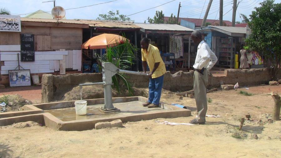 Santasi Zongo Brunnen