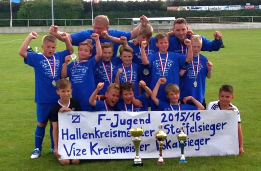Kreispokalsieger F-Junioren Blau-Weiß Zorbau