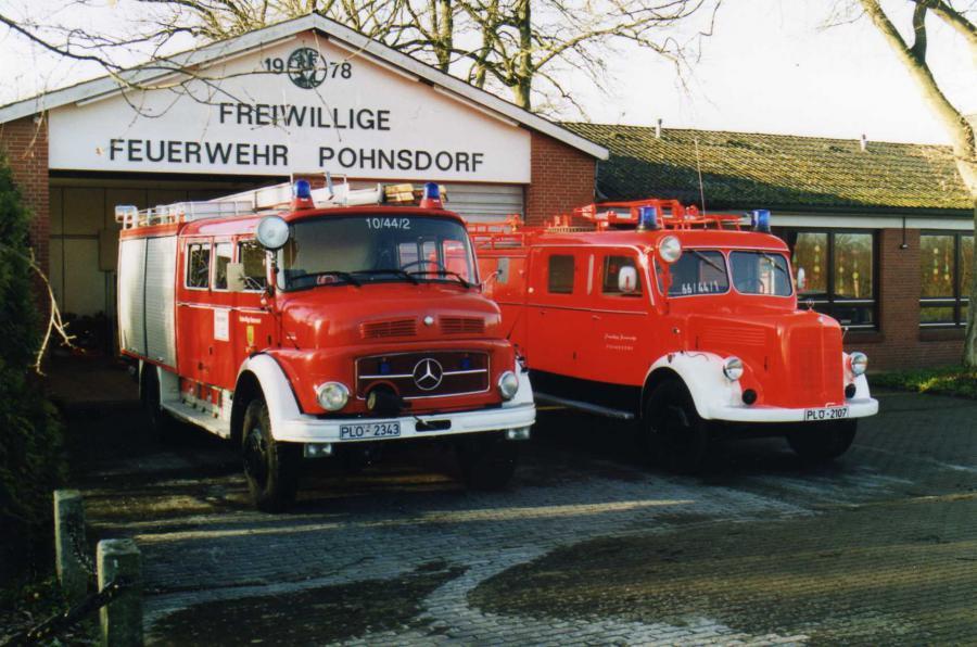 Zwei alte LF 16