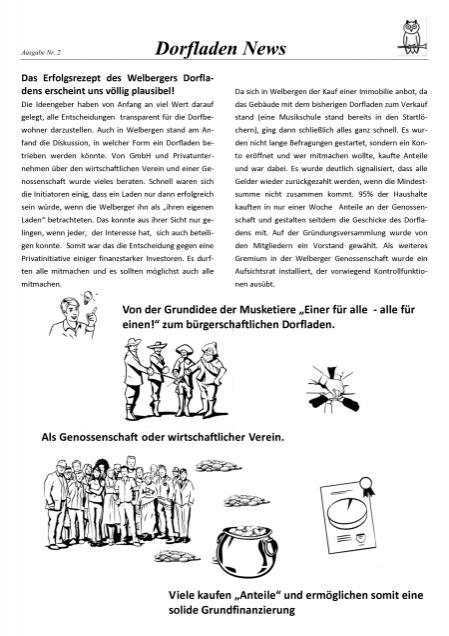 2. Dorfladen news 3