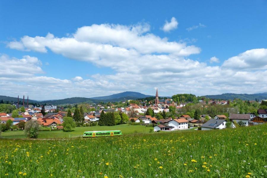Die Glasstadt Zwiesel