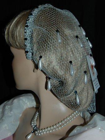 Perlen Haarnetz