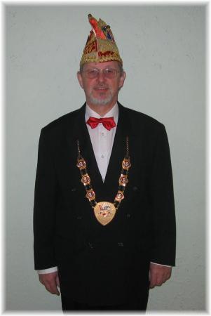 2.Präsident Hans Ihlenfeld