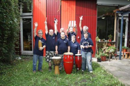 Happy Drummers