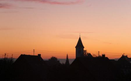 Vorstellung Herdwangen im Sonnenuntergang
