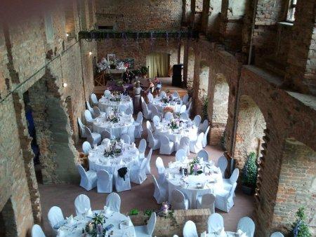 Hochzeitsdekoration durch die Apel Catering GmbH