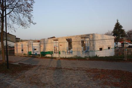 Stand Neubau am 7.November 2011, 2