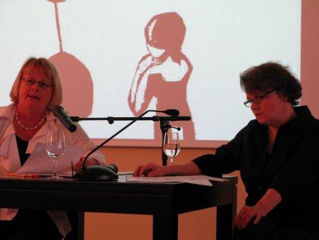 Anja Manz und Ingrid Kaech