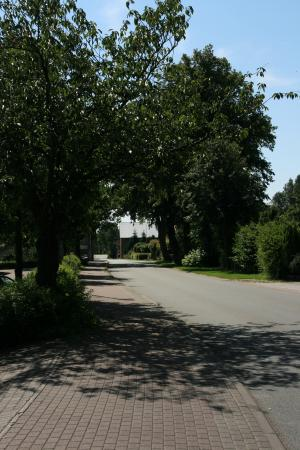 Hauptstraße Richtung Kielsgaard