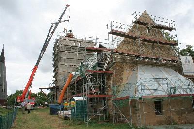 Rückbau Kirchturm