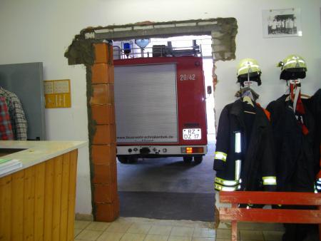 2011 Umbau Wache. Maurerarbeiten 10
