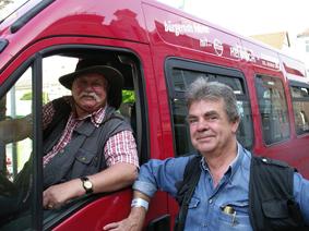 Bernd und Ekki, zwei Fahrer der ersten Stunde