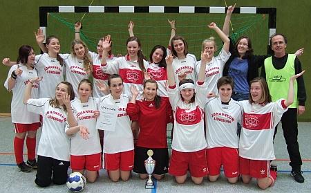 Johanneum gewinnt Schulturnier Mädchen am Ball (2)